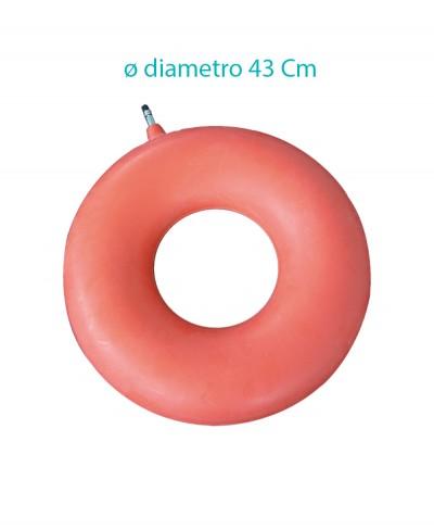 Ciambella Gonfiabile in Gomma Diametro 43 Cm