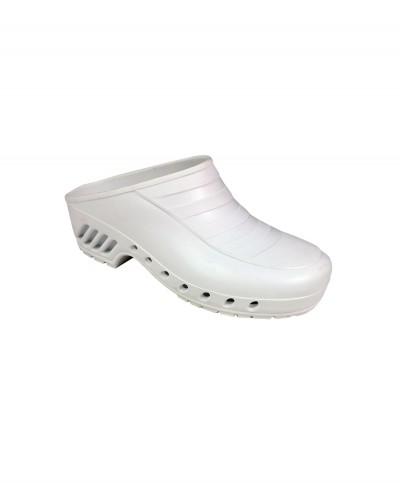 Zoccolo Infermiere Bianco Mis. 39 Senza Cinturino
