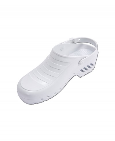 Zoccolo Infermiere Bianco Mis. 39 con Cinturino