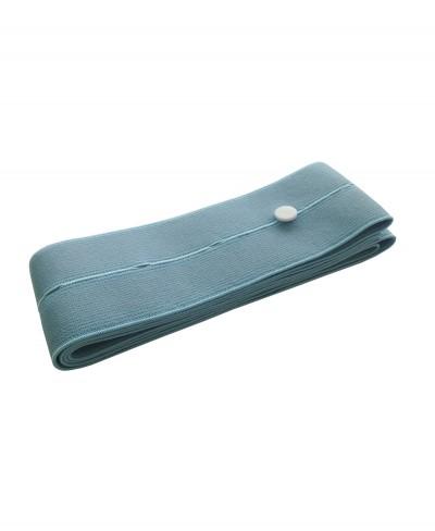Fascia Elastica per il Fissaggio dei Trasduttori Cardiotocografici - Azzurro